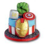 tortas para niños de avengers