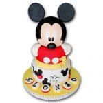 tortas para niños de mickey mouse