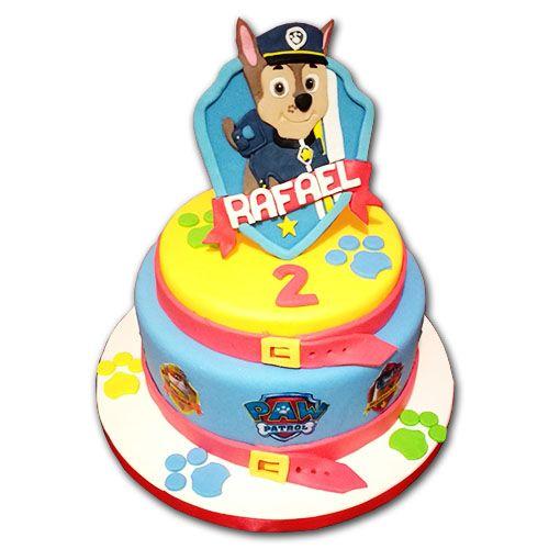 tortas de paw patrol