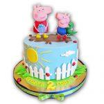 tortas para niñas de peppa pig