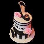 torta para mujeres de zapato con tacon