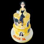 torta para mujeres urbana