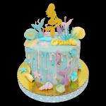 tortas de la sirenita