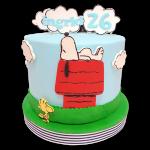 torta de snoopy