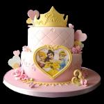 tortas de princesas lindas